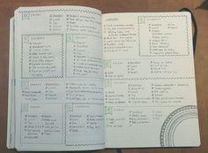 8.11.15// My week in my bullet journal :)