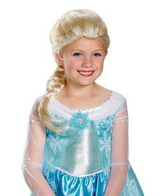 Love this Frozen Elsa Wig by Frozen on #zulily! #zulilyfinds $8.99, regula r15.00