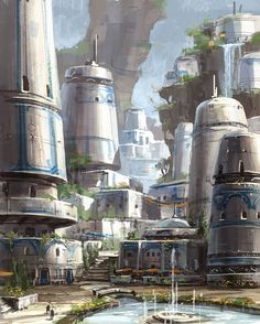 Star Wars the Old Republic- SWTOR concept Art by Ryan Denning