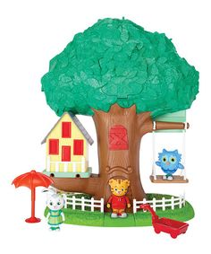 This Daniel Tiger Imagination Play Set by Daniel Tiger's Neighborhood is perfect! #zulilyfinds