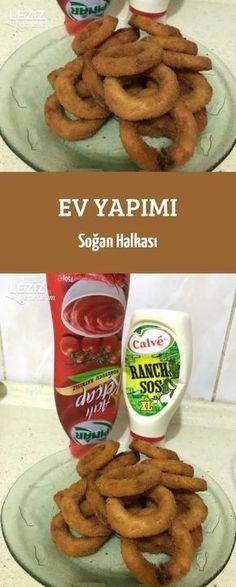 Ev Yapımı Soğan Halkası Rice Recipes, Vegan Recipes, Southern Cooking Recipes, Famous Recipe, Pasta, Turkish Recipes, Diet And Nutrition, International Recipes, Food And Drink