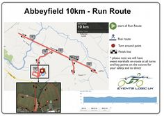 Abbeyfield 10km - Run Route | Events Logic UK | Be Part Of It!
