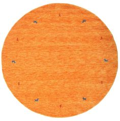 Gabbeh loom - Orange Teppich CVD15042