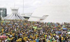 Protesto em Brasília reúne cerca de 45 mil pessoas - Jornal O Globo