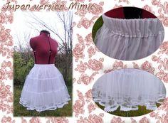 Bonjour tout le monde ! Que serait une lolita sans son jupon (ou petticoat en anglais) ? En effet, toute tenue lolita digne de ce nom se compose d'une robe ou d'une jupe qui doit avoir un minimum de bouffant. (A moins que vous ne choisissez le style Kodona...