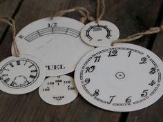 Chic Antique,Emaille Schilder mit Druck, weiß, Landhaus, Shabby