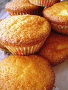 Magdalenas: Citrusy Spanish Cupcakes With Tea Buttercream Frosting