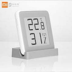 Xiaomi MiaoMiaoCe E-Link INK Screen Display Digital Moisture Meter High-Precision Thermometer Temperature Humidity Sensor Price: 26.99 & FREE Shipping #fashion|#tech|#home|#lifestyle Temperature Measurement, Humidity Sensor, Digital Thermometer, Temperature And Humidity, Digital Alarm Clock, Consumer Electronics, Cool Things To Buy, Remote, Moisturizer