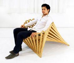"""Natuurlijke vorm """"In mijn onderzoek naar nieuwe technieken om te gebruiken voor mijn Rising Furniture-serie, raakte ik gefascineerd door het esthetisch aangename, doch complexe, van de natuurlijke vorm"""" Lees verder op NESTT.nl"""