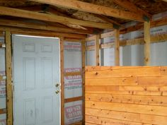 Add custom cedar panels to your new tiny shed or tiny cabin