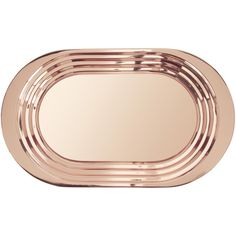 Tom Dixon Plum Tray ($200) ❤ liked on Polyvore featuring home, kitchen & dining, serveware, light brown, serving tray, glass serving tray, drink serving tray, drinks tray and glass tray
