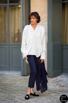 36 Best Inès de la Fressange images in 2019   Parisian style, Woman ... 360c409c27ac