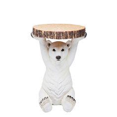 Litet sidobord Isbjörn