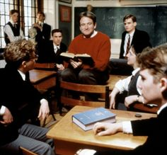 This is one of the best films ever!  Dead Poets Society ♥ O Captain, My Captain!