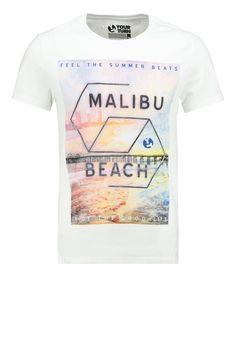 YOUR TURN - Print T-shirt - white