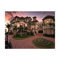 mansions | Tumblr found on Polyvore