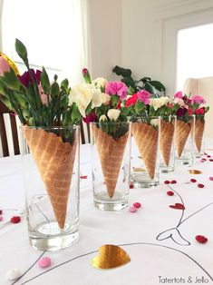 Make a 5 minute centerpiece for any kind of party!