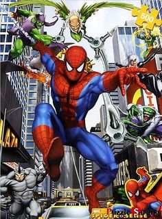 Jigsaw-Puzzles-500-Pieces-SpiderMan