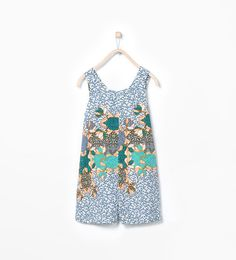 Claire-Coral print jumpsuit-Jumpsuits-Dresses-Girl (3-14 years)-KIDS | ZARA United States