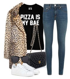 """""""Untitled #1620"""" by camilae97 ❤ liked on Polyvore featuring rag & bone, MANGO, Chanel, adidas and Barton Perreira"""