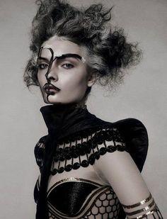 fashionrework.com,tribal and futuristic fashion and makeup, fashion ...