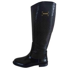 Buy your wellington boots GUESS on Vestiaire Collective, the luxury consignment store online. Second-hand Wellington boots GUESS Black in Rubber available. 4400447