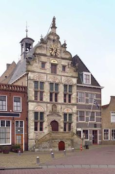 Stadhuis (City Hall) Renesse (Holland)