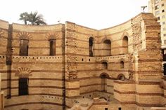 Ruins of the city of Babylon. Babylon was founded in 1894 BC