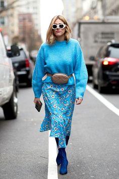 New York Fashion Week Street Style Fall 2018 Day 2 Cont. Street Style Trends, Look Street Style, Autumn Street Style, Street Styles, Fashion Week, New York Fashion, Look Fashion, Fashion Trends, Street Fashion