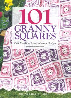 Ravelry: 101 Granny Squares (The Needlecraft Shop) - patterns Crochet Quilt, Crochet Blocks, Love Crochet, Crochet Motif, Crochet Stitches, Knit Crochet, Crochet Designs, Granny Square Häkelanleitung, Granny Square Crochet Pattern