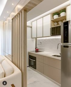 Hot coffee anyone? A quick pantry does the trick! ( Small Pantry Inspiration who wants a straight kitchen next to bedroom? Get swanky kitchen within Rs. 1 Lakh with 10 year warranty. Kitchen Room Design, Modern Kitchen Design, Home Decor Kitchen, Interior Design Kitchen, Home Kitchens, Kitchen Furniture, Straight Kitchen, Pantry Inspiration, Appartement Design