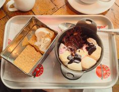 Smores for dessert at #theBigEasy. #smores #dessert #indulgent #CanaryWharf #yum #londonlife by whereisfenchurch
