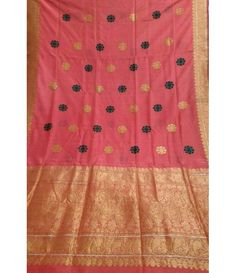 Pink Pure Banarasi Silk Saree------------A saree is the best attire for women.There is something about the sari that makes a woman look dignified, charming and every bit stylish. Over the years, the sari has evolved into a fashion statement, which most fashion designers glorify the look and feel of this traditional garment.----------------------Sarees from luxurionworld.com