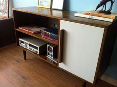 Living room TV stand - STORnewyork (Etsy) Cordial Credenza / Media Cabinet with Door - $799