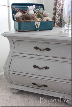 painted furniture ideas & inspiration #nestvintagemodern  cece caldwell chalk paint
