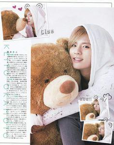 我是keito抱住的熊