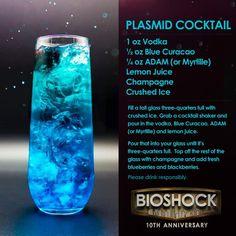 Tagged with random, bioshock, cocktails, dang; Liquor Drinks, Cocktail Drinks, Alcoholic Drinks, Beverages, Game Cocktail, Fancy Drinks, Summer Drinks, Fishbowl Drink, Vodka