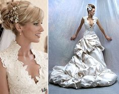 #TBT Candice Crawford, wife if Tony Romo wearing St. Pucchi for her wedding! She looked stunning. #wedding #candicecrawford