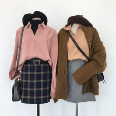 Korean Fashion Trends you can Steal – Designer Fashion Tips Cute Fashion, Look Fashion, Girl Fashion, Fashion Outfits, Womens Fashion, Fashion Ideas, Korean Fashion Trends, Korea Fashion, Asian Fashion