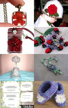 ❁Say It With Flowers❁ by Pascaline on Etsy--Pinned with TreasuryPin.com