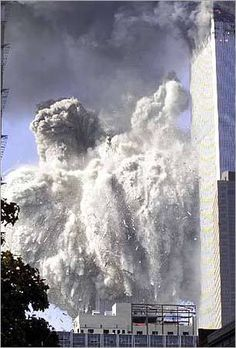 2 World Trade Center Collapse World Trade Center Collapse, World Trade Center Attack, World Trade Center Nyc, Trade Centre, 911 Never Forget, Lest We Forget, Us History, American History, American Flag