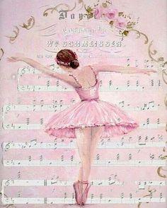 balerina decoupage - Szukaj w Google