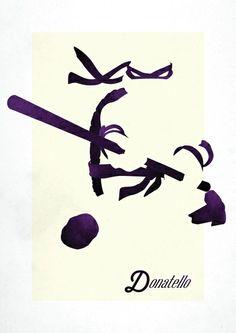 TMNT Donatello inspired print Art Print
