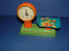 1950s Childs Scale Vintage Tin Toy Cool Design Works