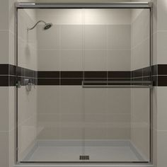 Arizona Shower Door Traditional 45.125-In To 47-In W X 67.375-In H Fra
