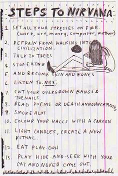 From Kurt's journals