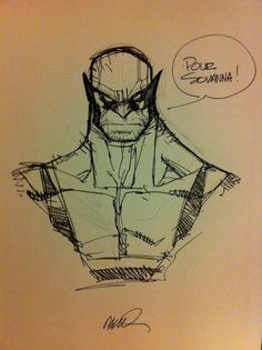 Humberto Ramos rough Pencils | Wolverine by Humberto Ramos (0 Comments)