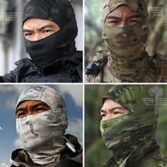 Updated by Eldritch an Omni Dragon Development A. Paintball, Airsoft Mask, Airsoft Guns, Half Face Mask, Diy Face Mask, Tactical Helmet, Helmet Liner, Military Camouflage, Balaclava