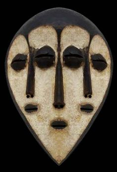 Mask from The Congo.