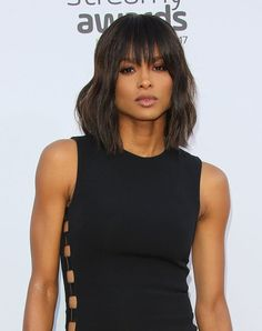 Love Ciara's trendy shag haircut? Get this and more shag haircut ideas from your fave celebrities. #shaghaircuts #hairtrends #shaghair #haicuttrends #haircutideas
